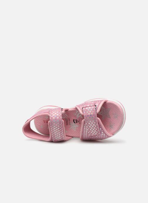 Sandaler Superfit Sunny Pink se fra venstre