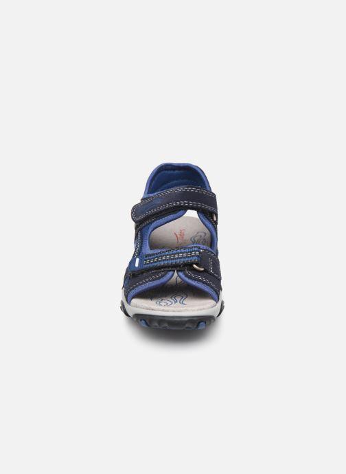 Sandalen Superfit Mike2 blau schuhe getragen