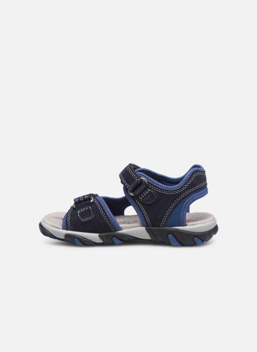 Sandalen Superfit Mike2 blau ansicht von vorne