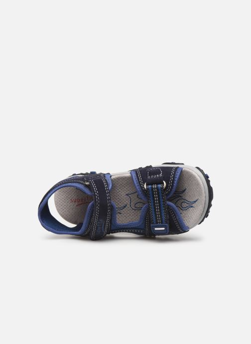 Sandalen Superfit Mike2 Blauw links