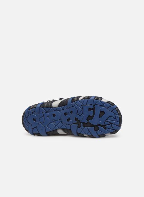Sandalen Superfit Mike2 blau ansicht von oben