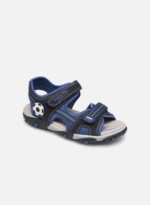 Sandals Superfit Mike2 Blue detailed view/ Pair view