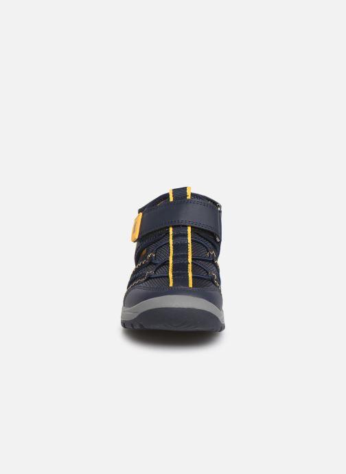 Sandales et nu-pieds Superfit Tornado Bleu vue portées chaussures
