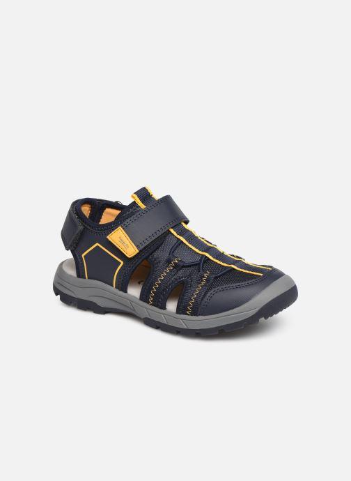 Sandales et nu-pieds Superfit Tornado Bleu vue détail/paire