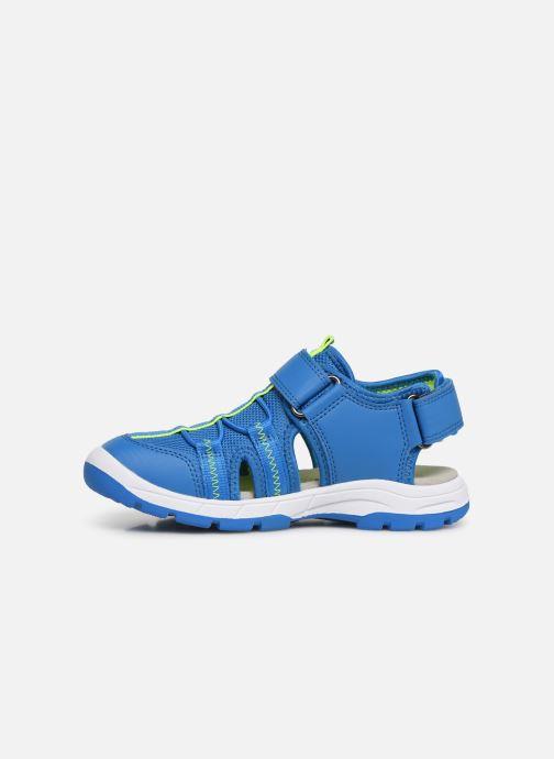 Sandales et nu-pieds Superfit Tornado Bleu vue face