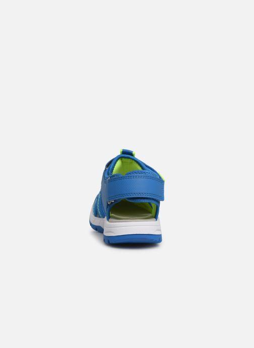 Sandales et nu-pieds Superfit Tornado Bleu vue droite