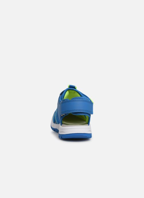 Sandals Superfit Tornado Blue view from the right