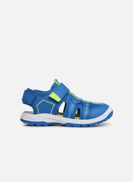 Sandales et nu-pieds Superfit Tornado Bleu vue derrière