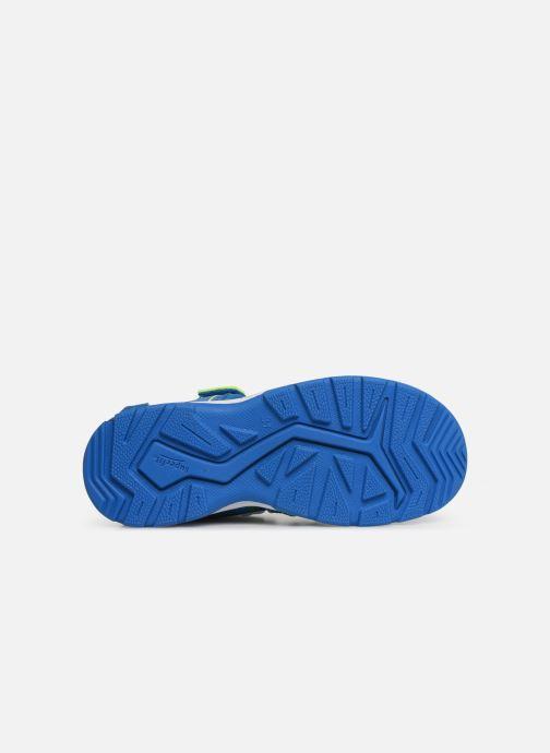 Sandali e scarpe aperte Superfit Tornado Azzurro immagine dall'alto