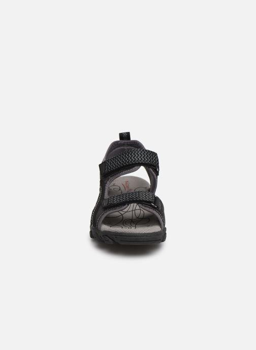 Sandales et nu-pieds Superfit Hike Noir vue portées chaussures