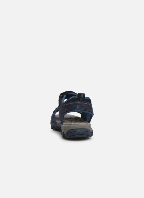 Sandales et nu-pieds Superfit Hike Bleu vue droite