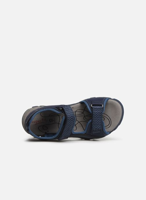 Sandalen Superfit Hike Blauw links