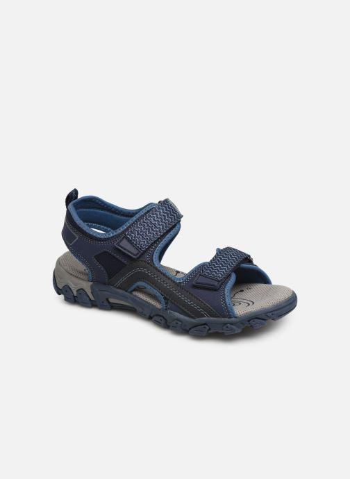 Sandaler Superfit Hike Blå detaljeret billede af skoene