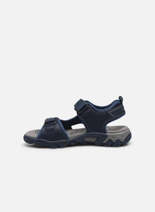 Sandales et nu-pieds Superfit Hike Bleu vue face