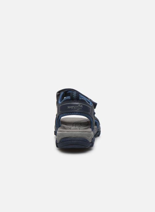 Sandalen Superfit Hike blau ansicht von rechts
