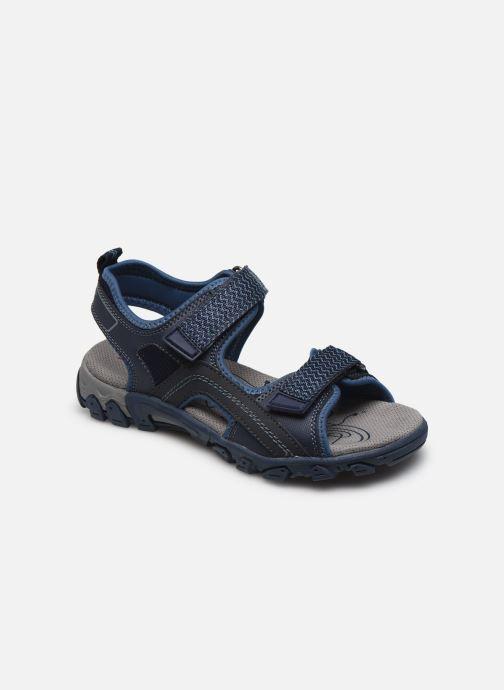 Sandales et nu-pieds Superfit Hike Bleu vue détail/paire