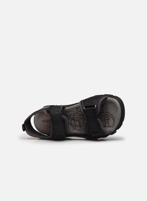 Sandales et nu-pieds Superfit Hike Noir vue gauche