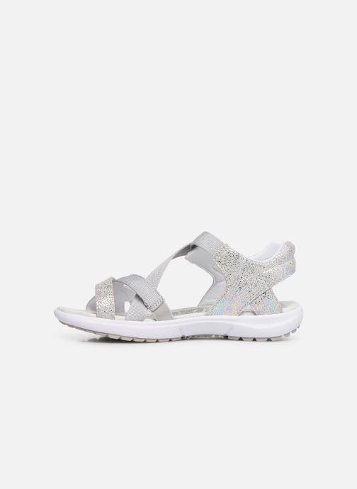 Sandalias Superfit Rainbow Gris vista de frente