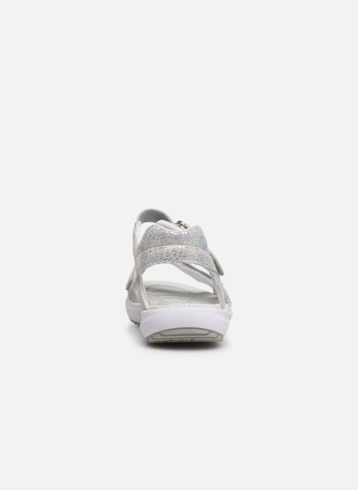 Sandalias Superfit Rainbow Gris vista lateral derecha