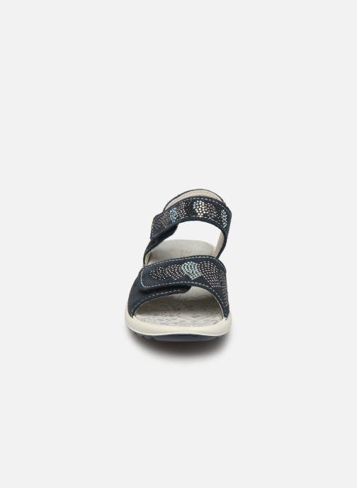 Sandales et nu-pieds Lurchi by Salamander Fermi Bleu vue portées chaussures
