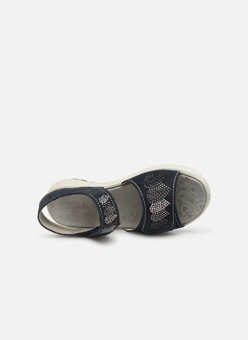 Sandales et nu-pieds Lurchi by Salamander Fermi Bleu vue gauche