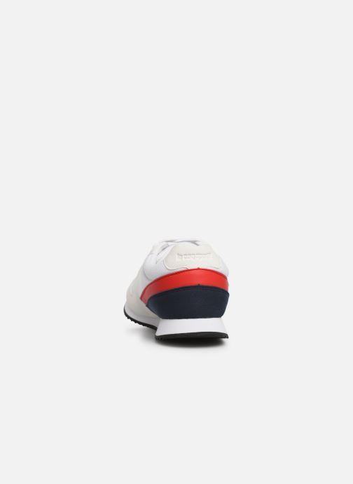 Baskets Le Coq Sportif Alpha II Blanc vue droite