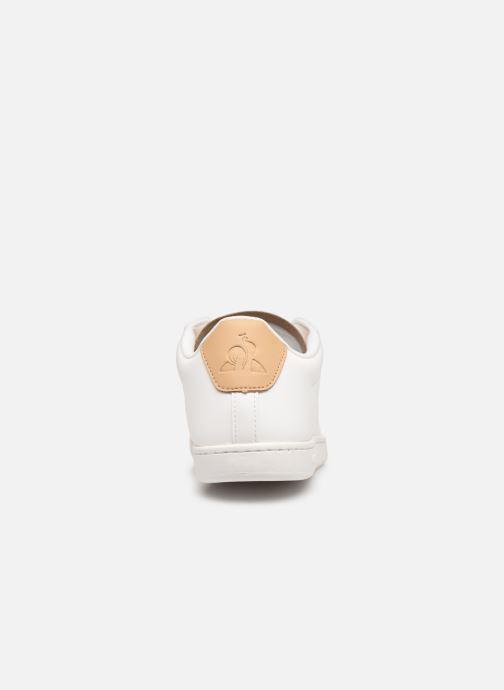 Baskets Le Coq Sportif Courtset S Blanc vue droite