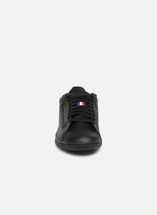 Baskets Le Coq Sportif Courtset S Noir vue portées chaussures