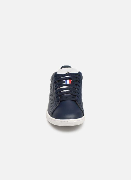 Baskets Le Coq Sportif Courtset S Bleu vue portées chaussures