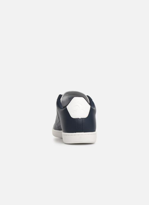 Trainers Le Coq Sportif Courtset S Blue view from the right