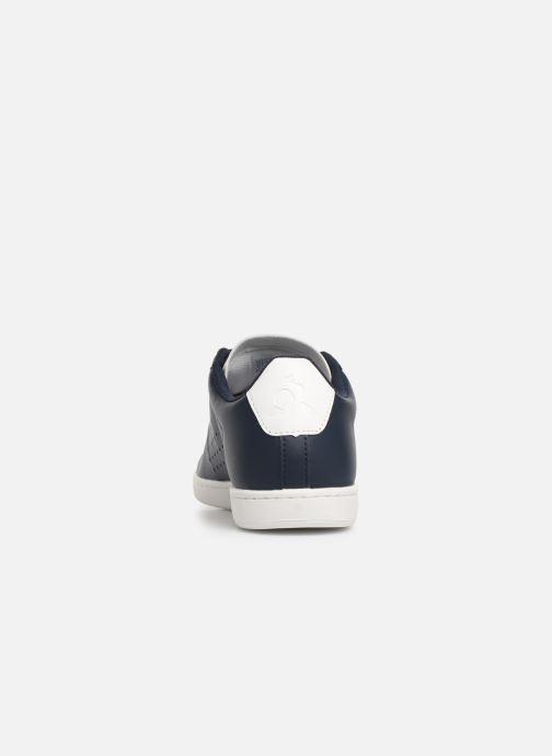 Baskets Le Coq Sportif Courtset S Bleu vue droite