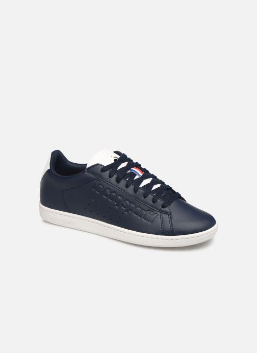 Sneakers Le Coq Sportif Courtset S Blå detaljeret billede af skoene