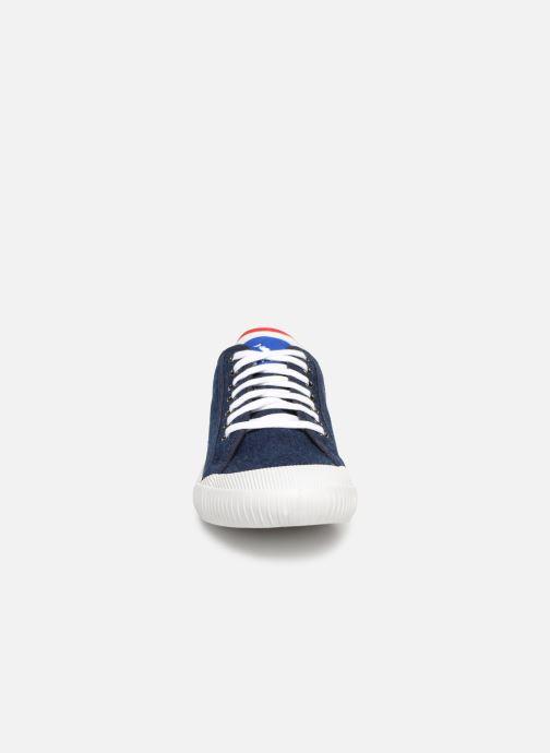 Baskets Le Coq Sportif Nationale Denim Bleu vue portées chaussures