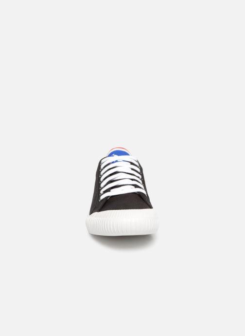 Baskets Le Coq Sportif Nationale Noir vue portées chaussures