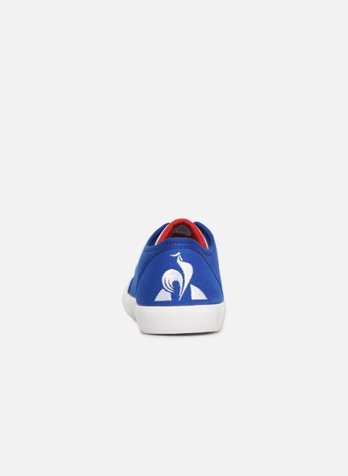 Baskets Le Coq Sportif Nationale Bleu vue droite