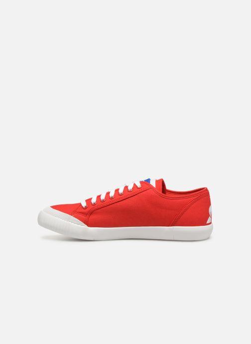Sneaker Le Coq Sportif Nationale rot ansicht von vorne