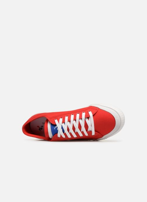 Sneaker Le Coq Sportif Nationale rot ansicht von links