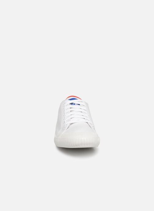 Baskets Le Coq Sportif Nationale Blanc vue portées chaussures
