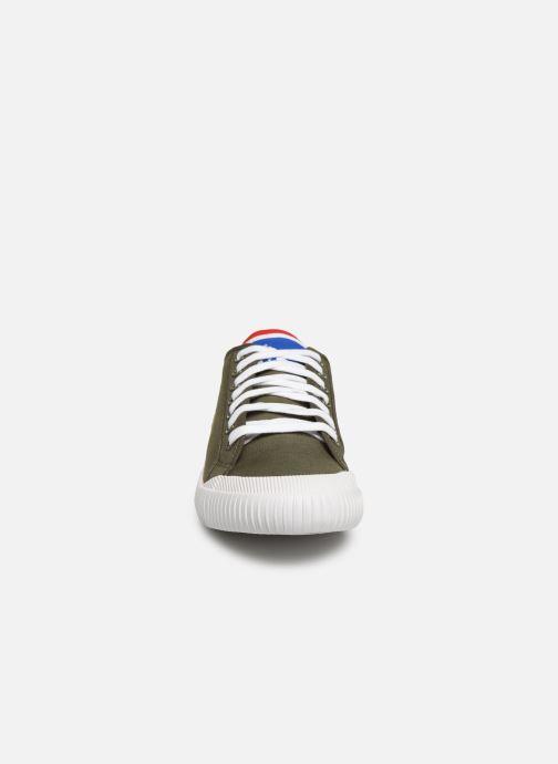 Baskets Le Coq Sportif Nationale Vert vue portées chaussures