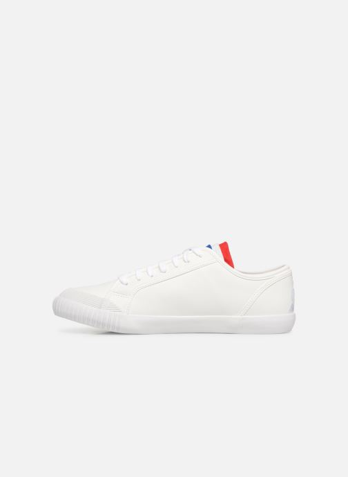 Baskets Le Coq Sportif Nationale Cuir Blanc vue face