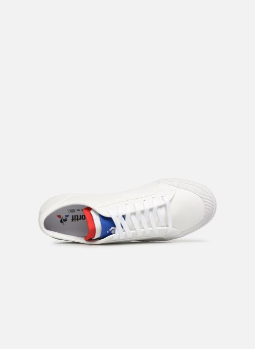 Sneakers Le Coq Sportif Nationale Cuir Bianco immagine sinistra
