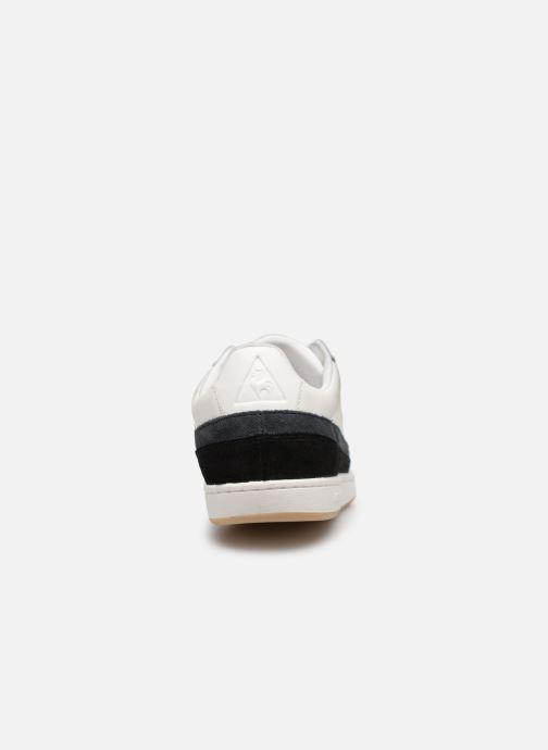 Baskets Le Coq Sportif Courtclay Blanc vue droite
