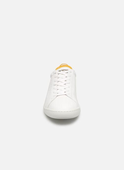 Sneakers Le Coq Sportif Blazon Wit model
