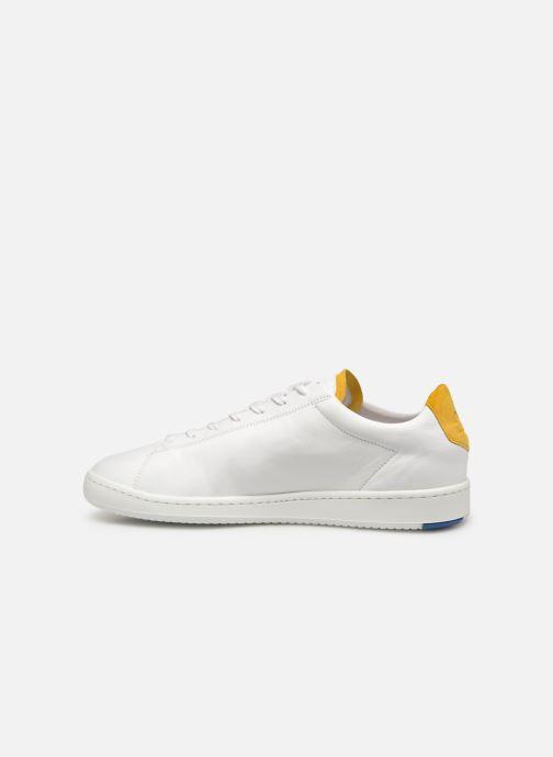 Sneakers Le Coq Sportif Blazon Wit voorkant