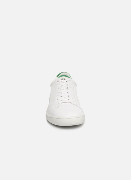 Trainers Le Coq Sportif Blazon White model view