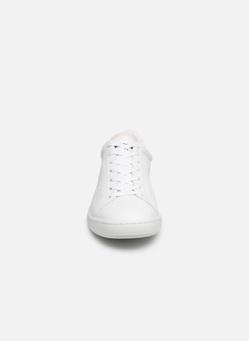Sneakers Le Coq Sportif Blazon Bianco modello indossato