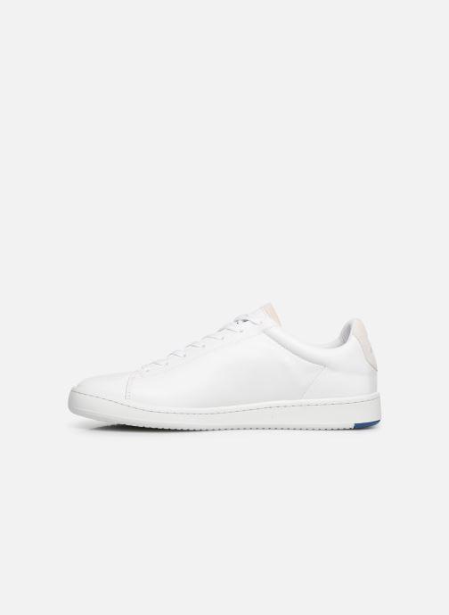 Sneakers Le Coq Sportif Blazon Bianco immagine frontale