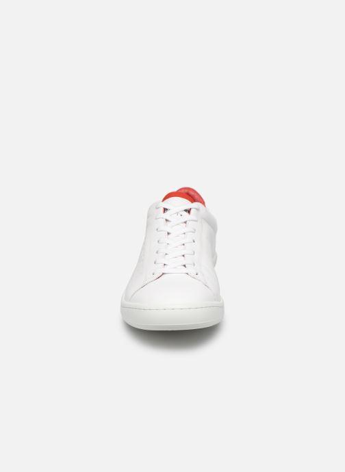 Baskets Le Coq Sportif Blazon Blanc vue portées chaussures