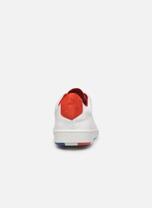 Baskets Le Coq Sportif Blazon Blanc vue droite
