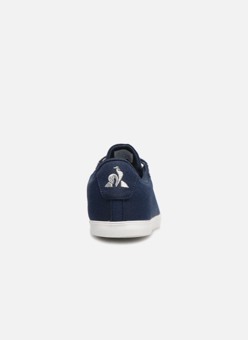 Trainers Le Coq Sportif Agate Blue view from the right